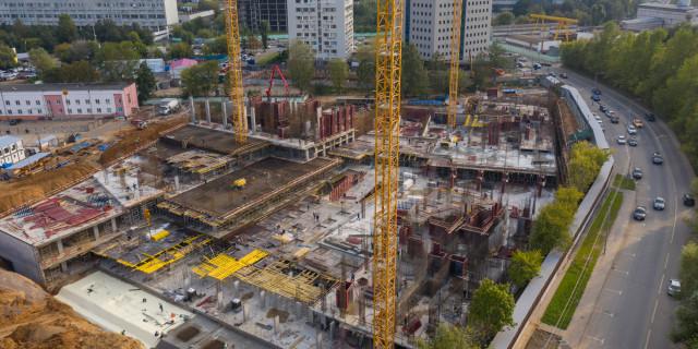 Все выше и выше: в EVER началось строительство надземной части комплекса